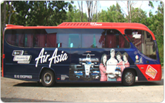 SkyBus Painting Advertising